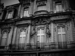 Downtown Bordeaux architecture. (c) 2014 T.S. Jackson